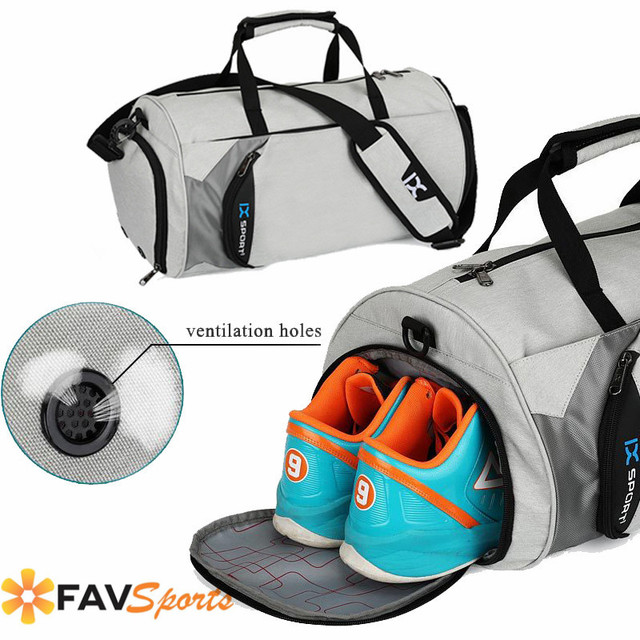 Waterproof Men Women Sports Gym Bag Fitness Travel Sac de Handbag For Shoes Pouch  Rucksack Outdoor Yoga Bag 279e84b4625ca