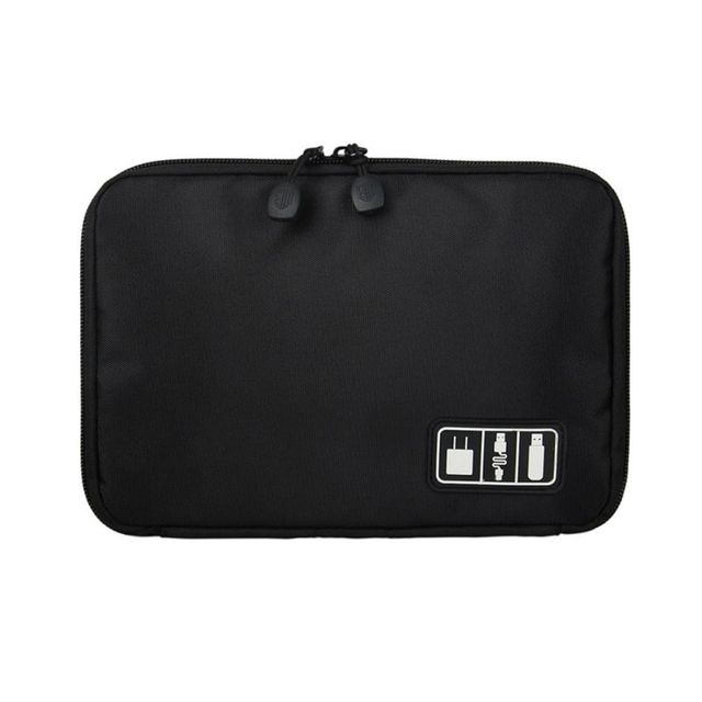 Digital Storage Bag Electronic Accessories Bag Organizer System Kit Case Storage Bag Digital Devices USB Data Cable Earphone