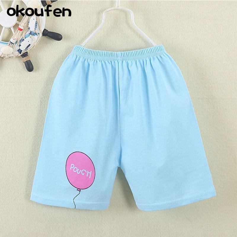 okoufen brand baby summer pants quality 100 cotton font b children b font boy and girl