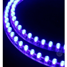 2pcs 12V 48cm Car LED Light Strip Waterproof Flexible LED motorcycle DRL Headlight Tail LED lighting Head Daytime Running Light(China)