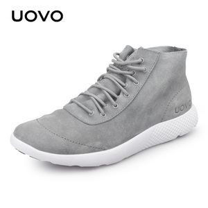 Image 2 - حذاء رجالي حذاء كاجوال تصميم جديد طارد المياه حقيقية أحذية من الجلد خفيفة الوزن دائم أحذية بنعل مطاطي الرجال Eur #40 44
