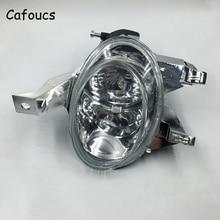 Cafoucs Front Bumper Fog Lights For Peugeot 206 1998 Car Fog font b Lamp b font