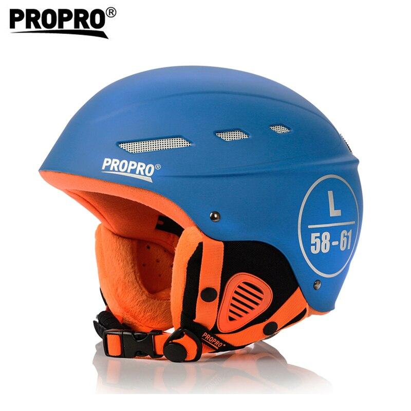 PROPRO 009 Skiing Helmets Winter Adult Men & Women Skating Skateboard Helmet Snowboarding Safety hat Head protection