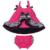 Conjunto de Roupas Meninas Do Bebê Recém-nascido de Algodão Parte Superior Do Tanque de moda Irritar Parte Superior Do Balanço Estilingue Bloomers Calções Criança Meninas Roupas de Bebê X023