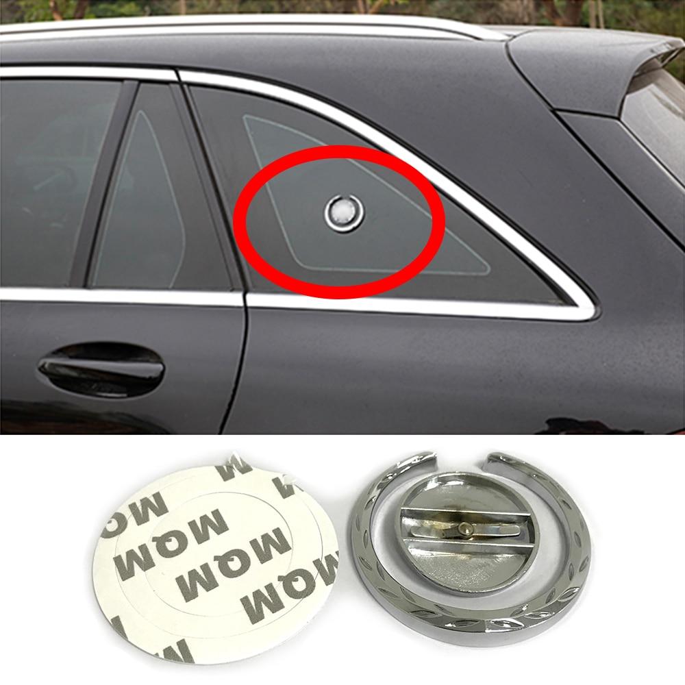 Para Mercedes Benz Logotipo Embelm Etiqueta Traseira GLK Pára Decoração Car Styling para AMG GLA GLC GLE M S E C CIA W204 W211 W203