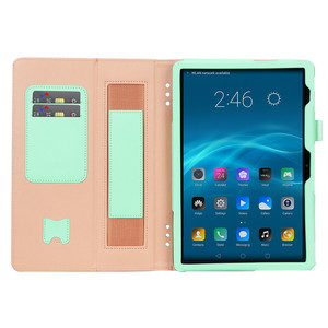 Image 4 - สำหรับHuawei MediaPad T5 10 กรณีPUหนังฝาครอบสำหรับHuawei T5 10 AGS2 L09/L03/W09/W19 10.1 แท็บเล็ต + ฟิล์ม