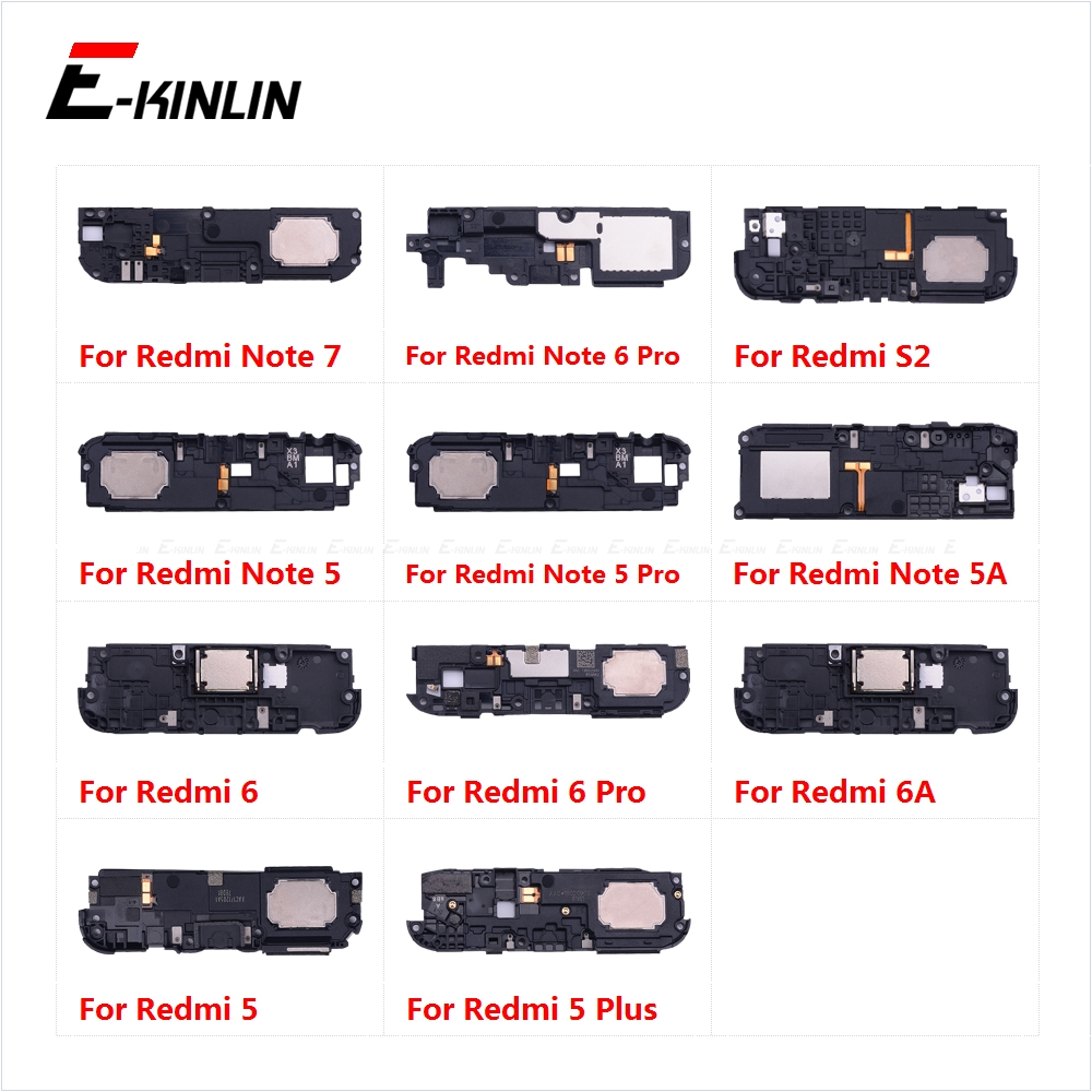Rear Bottom Loudspeaker Buzzer Ringer Loud Speaker Flex Cable For XiaoMi Redmi Note 7 6 5 Pro Plus 6A 5A S2