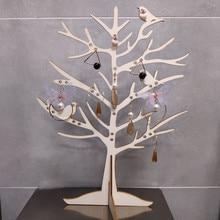 1 шт., птичье дерево, ювелирный органайзер, держатель, пчела, ювелирная стойка, серьги-гвоздики, Didsplay, ожерелье, держатель для хранения ювелирных изделий, украшение стола
