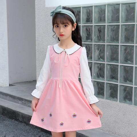 Old Girls Spring Autumn Dress