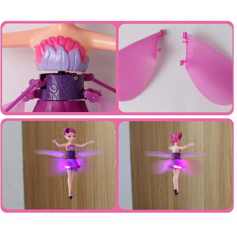 Bonecas engraçado bonecas brinquedo flying fairy Feature : Bateria Operated, diy Toy, educational, electronic