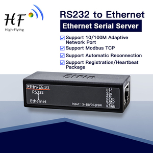 Image 2 - RS232 Serial Port to Ethernet Server Converter Module Wireless Networking Device Support TCP/IP Telnet Modbus Protocol EE10 Q213