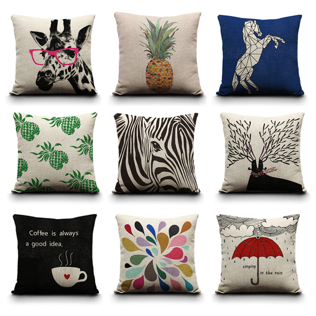 Clearance, Many Designs Can Choose, Wholesale Cushions Home Decor Cushions  Decorative Pillows 45CM Cushion Throw Pillows