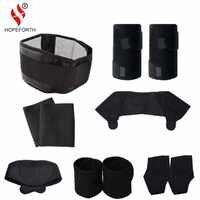 11 pièces/ensemble Tourmaline auto-chauffant ceinture thérapie magnétique cou épaule Posture correcteur genou soutien orthèse masseur produits
