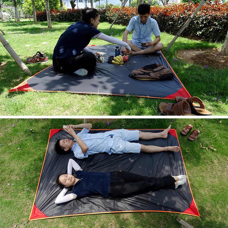 Foldable Ultralight Sleeping Ground Sheet Portable Pocket Camping Blanket