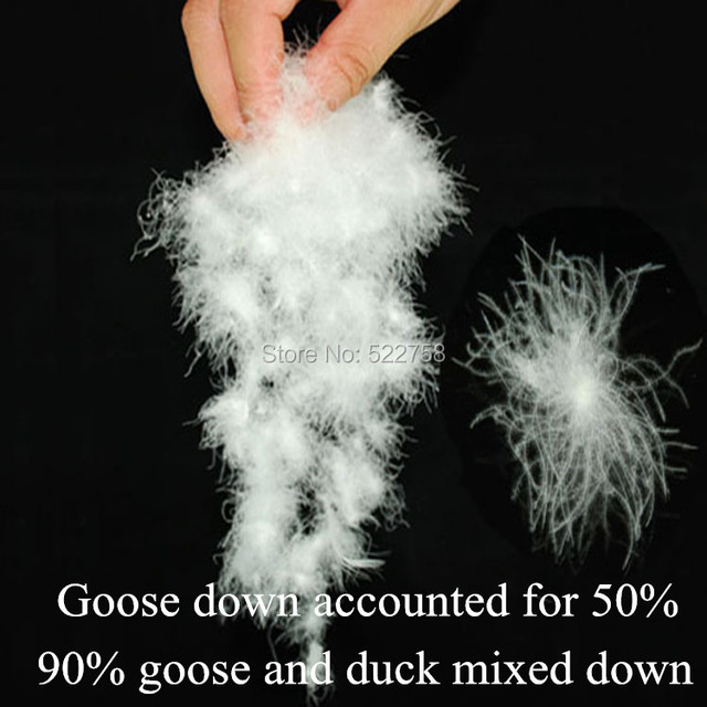90 White Goose Duck Mixed Down Accounted For 50 Fill Power 700 Comforter And Jacket Filler 05 Kg Price