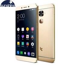 Оригинал Letv LeEco Le Max 2 Х 820 4 Г LTE Mobile телефон Quad Core Snapdragon 820 5.7 »21. 0 МП Dual SIM Отпечатков Пальцев телефон