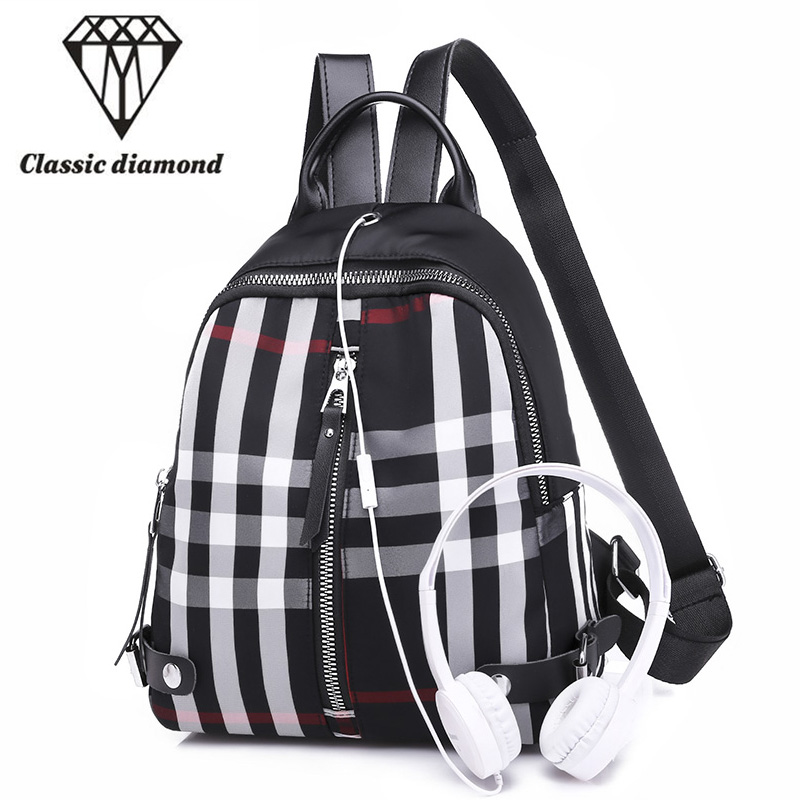 563ff015791 Fashion Brand Designer Women Waterproof Nylon Backpack Bag Female Small  Travel Backpacks For Teenage Girls Back Pack sac a dos - aliexpress.com -  imall.com