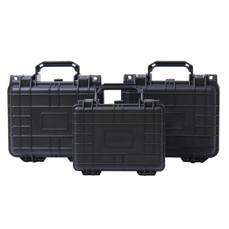 Portable Tool Box ABS Plastic Sealed Dust\Shock-proof Storage Case Safety Equipment Case Dry Box Outdoor Equipment