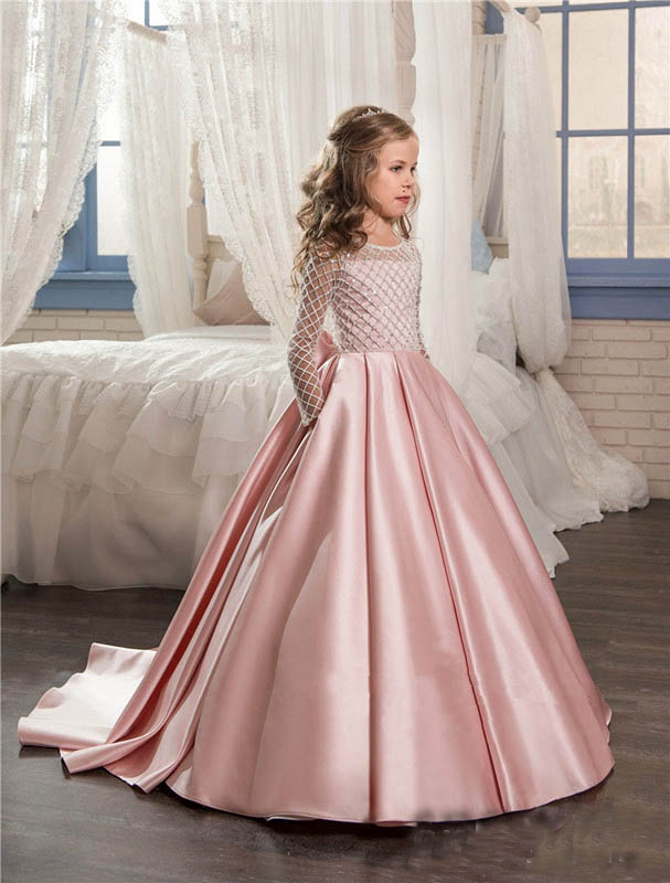 light pink dresses for girls