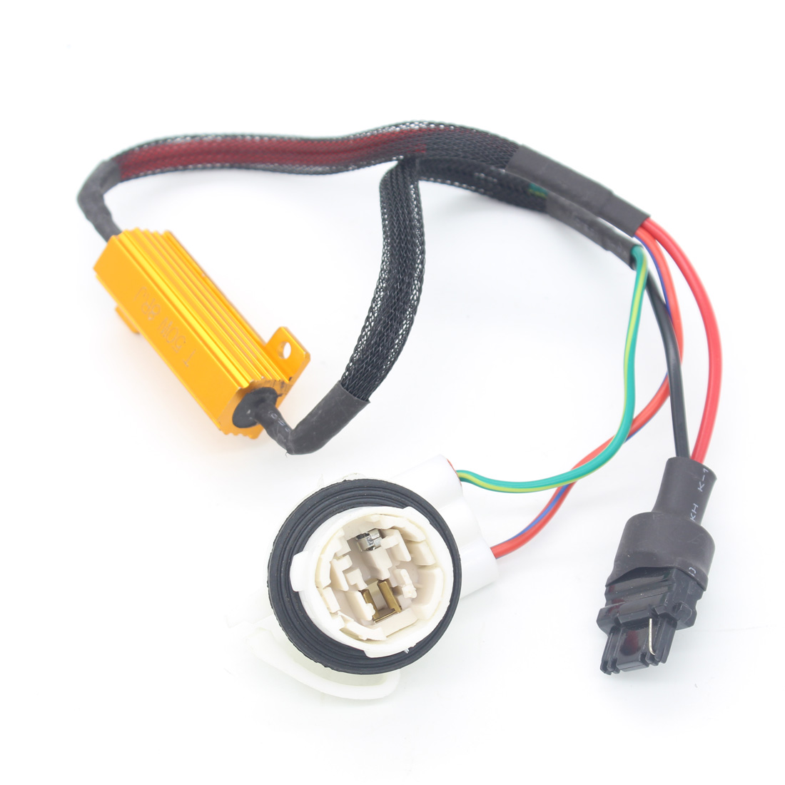 Car Led Fog Light Lamp Load Resistor Canbus Error Free Wiring 12v H11 Hid Warning Canceller Install The Same Effect By Reference Product Package Does Not Include Bulb
