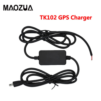Maozua GPS Tracker TK102B Hard Wired Vehicle Charger Kit 12-24V Car Battery Adapter USB GSM Charger for GPS Tracker TK102 image