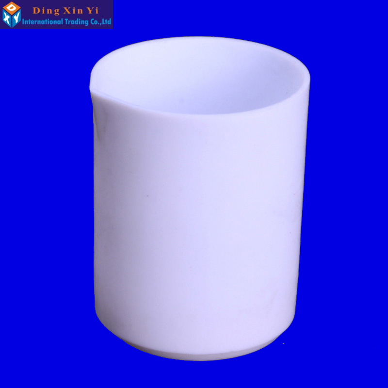 500ml PTFE/Teflon/ beaker Acid and Alkali and solvents resistant beaker 200ml ptfe beaker teflon beaker no handle chemical labware