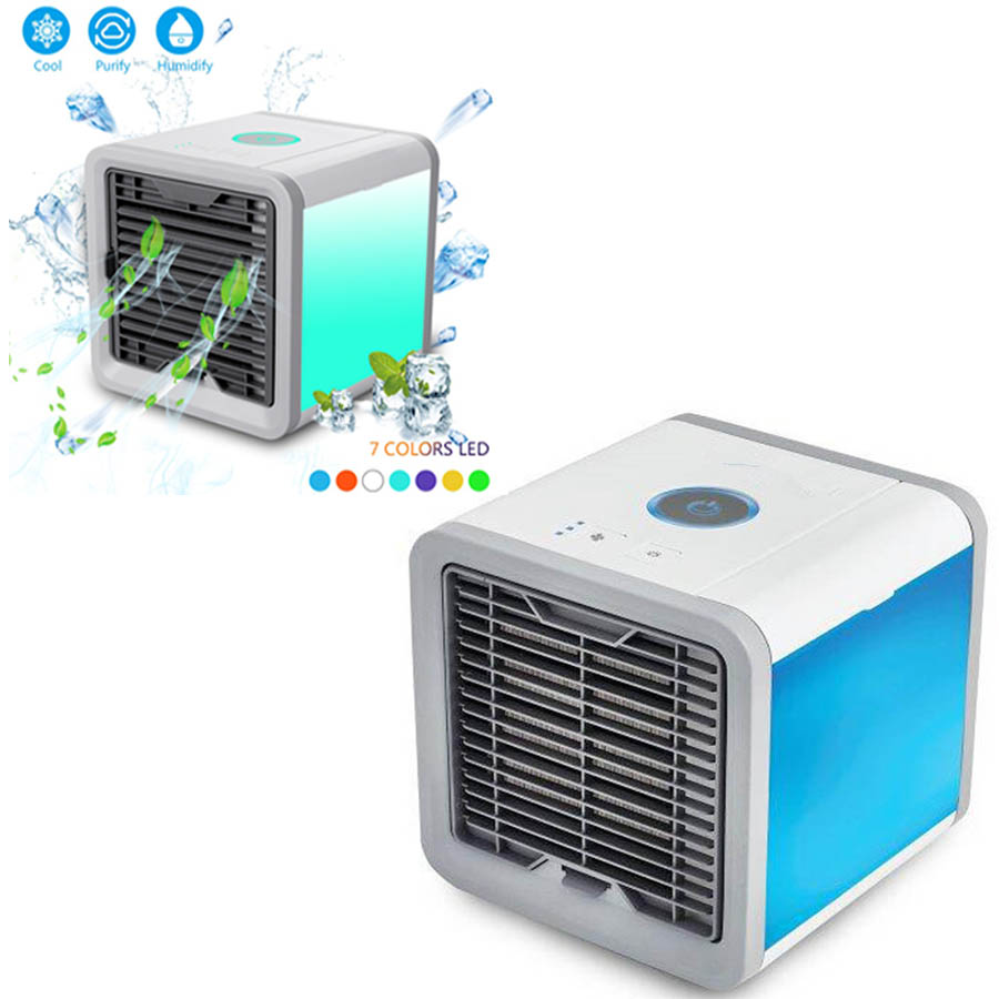 new product 8df7b 1302d NEW Air Cooler Arctic Air Personal Space Cooler The Quick   Easy Way to  Cool Any Space Air Conditioner Device Home Office Desk-in Fans from Home  Appliances ...