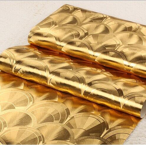 3d Wallpaper For Bedroom Walls Aliexpress Com Buy Modern Luxury Golden Wallpaper