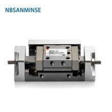 ミリメートルエアスライドテーブルシリンダー空気圧シリンダー食品パッケージプリンタ繊維機械 NBSANMINSE MXP 20