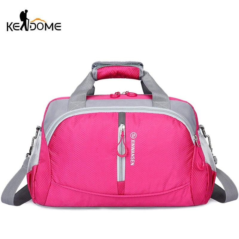 2019 Waterproof Nylon Travel Luggage Bag Large Capacity Sports Yoga Gym Bag Women Fitness Basketball Training Shoulder Bag XA1WD