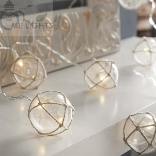 battery powered clear globe fairy string lights gerlyanda decorative led christmas lights for party holiday decoration garland in led string from lights