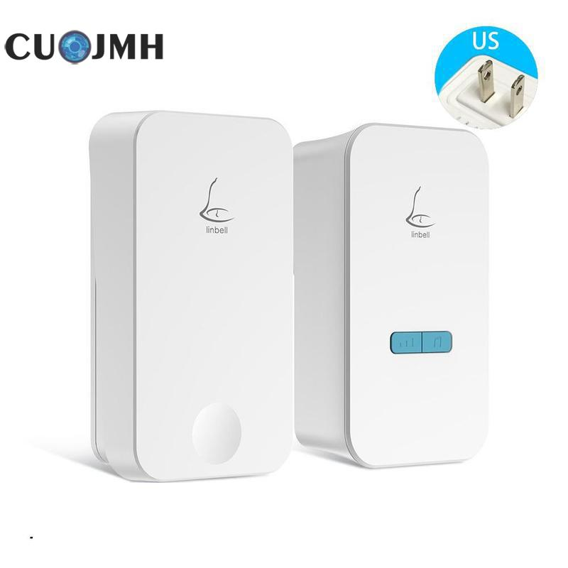 1 Pcs Household Wireless Doorbell Linbell G4 Outdoor Waterproof High End Villa Doorbell High Quality Wireless Doorbell doorbell villa