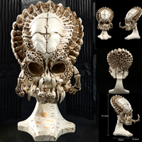 Statues Africa Home Decor Skull For Decoration Resin Alien Skull Predator Skeleton Abstract Sculptures Art Carving Statue