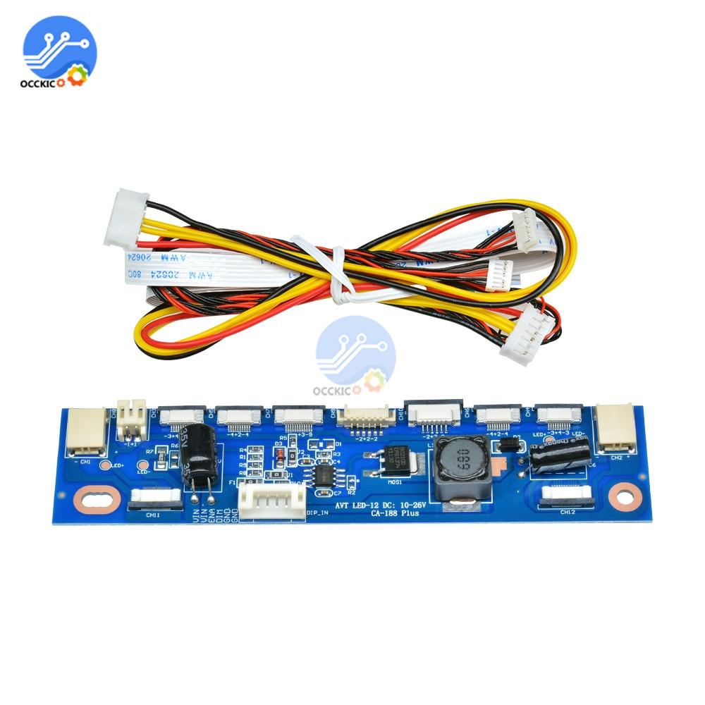 1 Set Multifunction Inverter For Backlight LED Constant Current Board Driver Board 12 Connecters LED Strip Tester