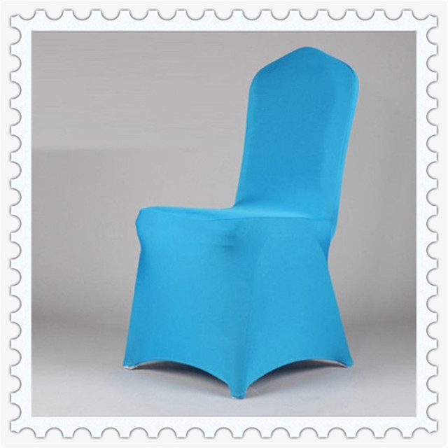 Chair Covers For Wedding Easy To Use Sky Blue Spandex Chair Covers For  Banquet Chairs
