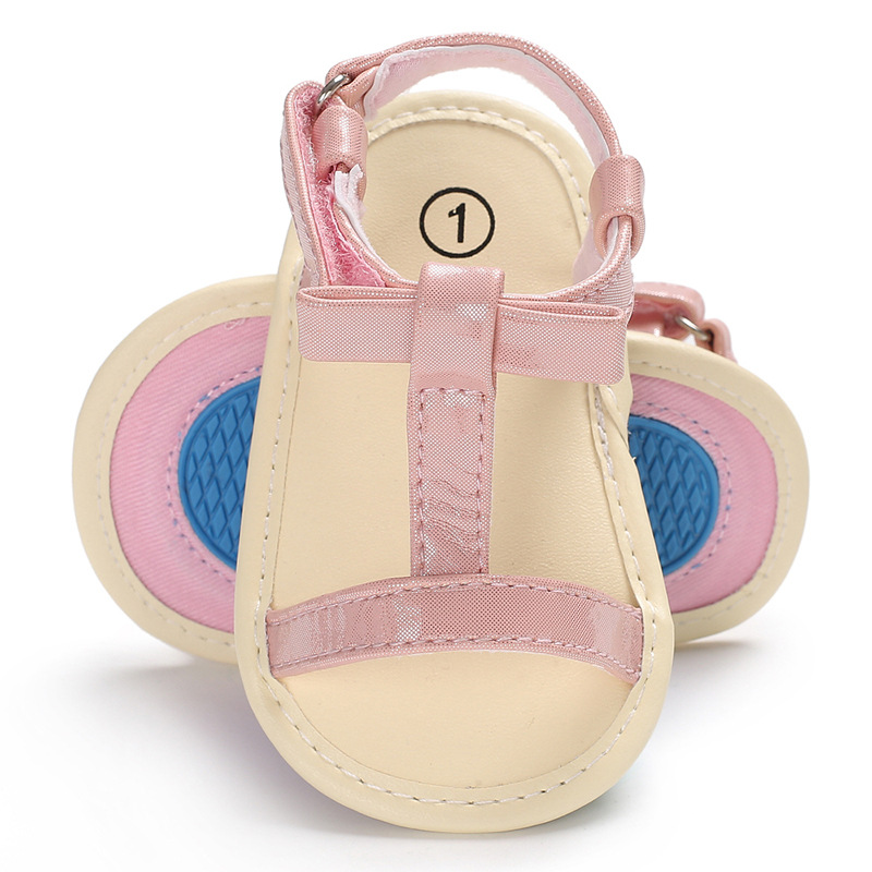 New Style Baby Girls Boys Sandals Shoes Soft Sole Newborn Summer Footwear Infant Shoes f ...