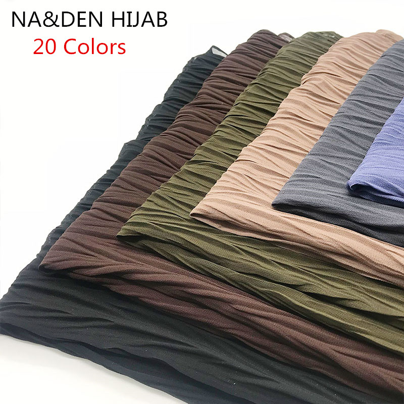 2019 women scarf plain Fold maxi scarves the shape of Solid shawl patchwork new design soft