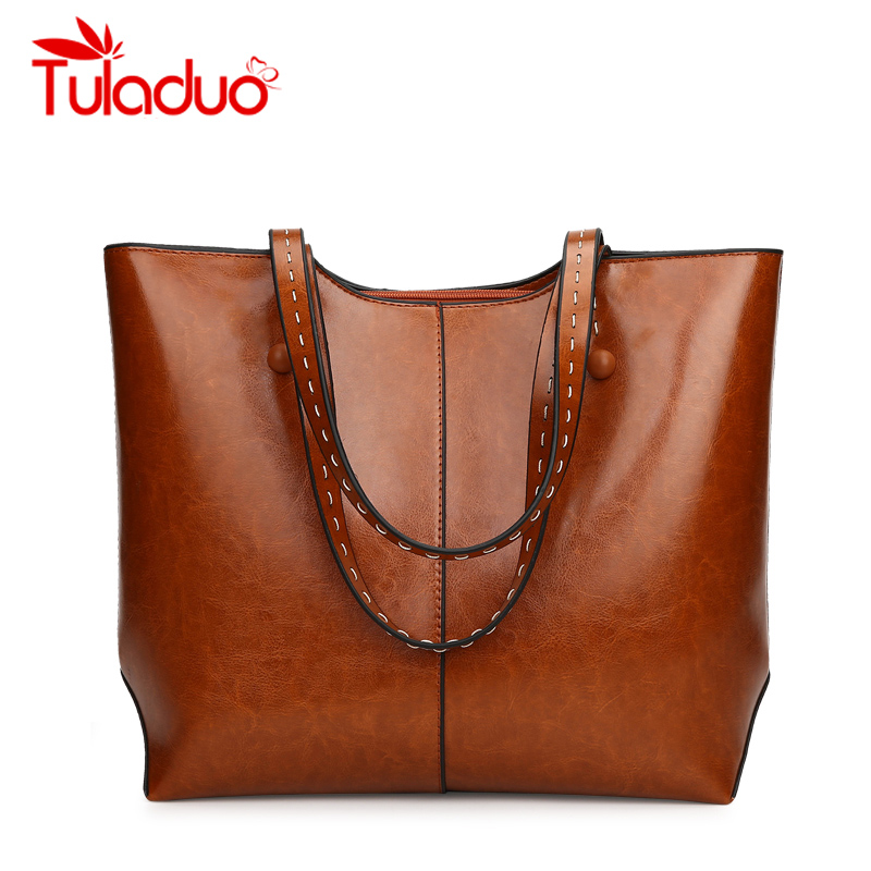 2018 Women Bags Female Shoulder Bags Luxury Designer PU Leather Bag New Vintage Handbags High Quality Famous Brands Tote Bag Sac chispaulo women genuine leather handbags cowhide patent famous brands designer handbags high quality tote bag bolsa tassel c165