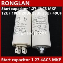 цена на [BELLA] [New Original] ARCOTRONICS Motor inverter start  capacitor 1.27.4AC3 MKP 12UF 18UF 20UF 25UF 30UF 40UF