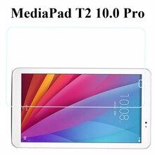 Para huawei mediapad t2 10.0 pro fdr-a01w/fdr-a03l prima templado protector de pantalla de cristal