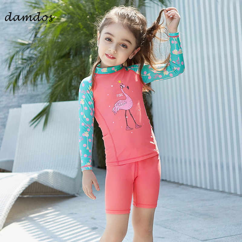 981053cd66 Bikini Kids Swimwear Two Piece Swimsuit Boy Girls Beach Dress UPF50+ UV  Protected Kids Jellyfish Childen