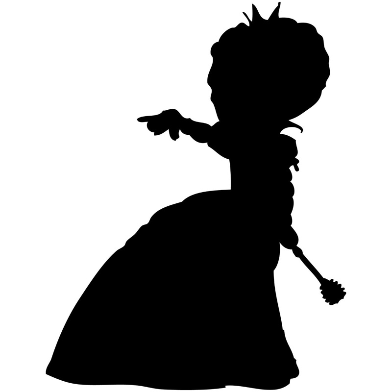 11.7cm*15.1cm Alice In Wonderland Queen Of Hearts Vinyl Stickers Decals Black/Silver S3-6578