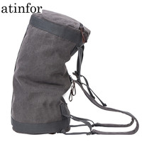 atinfor Multifunction Vintage Canvas Travel Bag Men Weekend Bags Large Capacity Duffel Bag Luggage