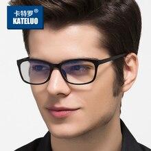 KATELUO TUNGSTEN แว่นตาคอมพิวเตอร์ Anti Blue Radiation Men แว่นตากรอบแว่นตาสำหรับผู้หญิง Oculos 13031