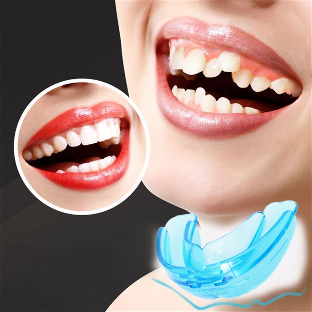 1Pcs Plastic Orthodontic Retainer Box Teeth Straightener Training Boxing Braces Tooth Tray Adult Alignment Teeth Retainer