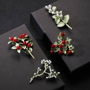 Corsage Dress Brooch Coat-Accessories Jewelry Flower Carnation Vintage Rinhoo New-Arrivals