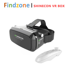 VR Box Shinecon Virtual Reality 3D Glasses VR Movie Game Lens 4.0-6.0 Inch Smart Phone