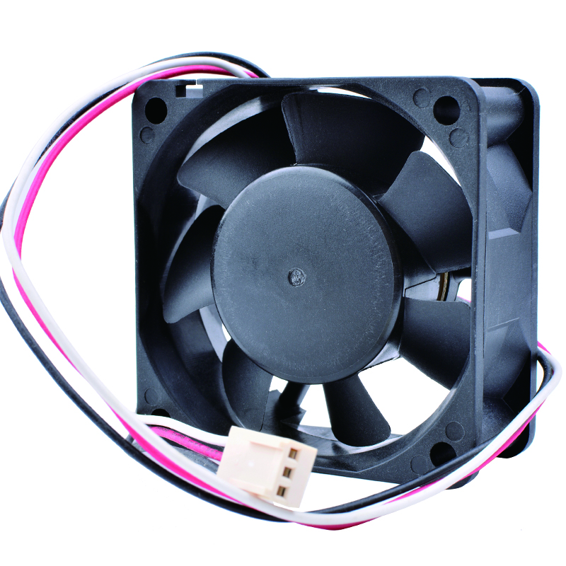 COOLING REVOLUTION C6025B12L 6cm 6025 12V 0.12A 3-wire speed monitoring function mute computer CPU cooling fan