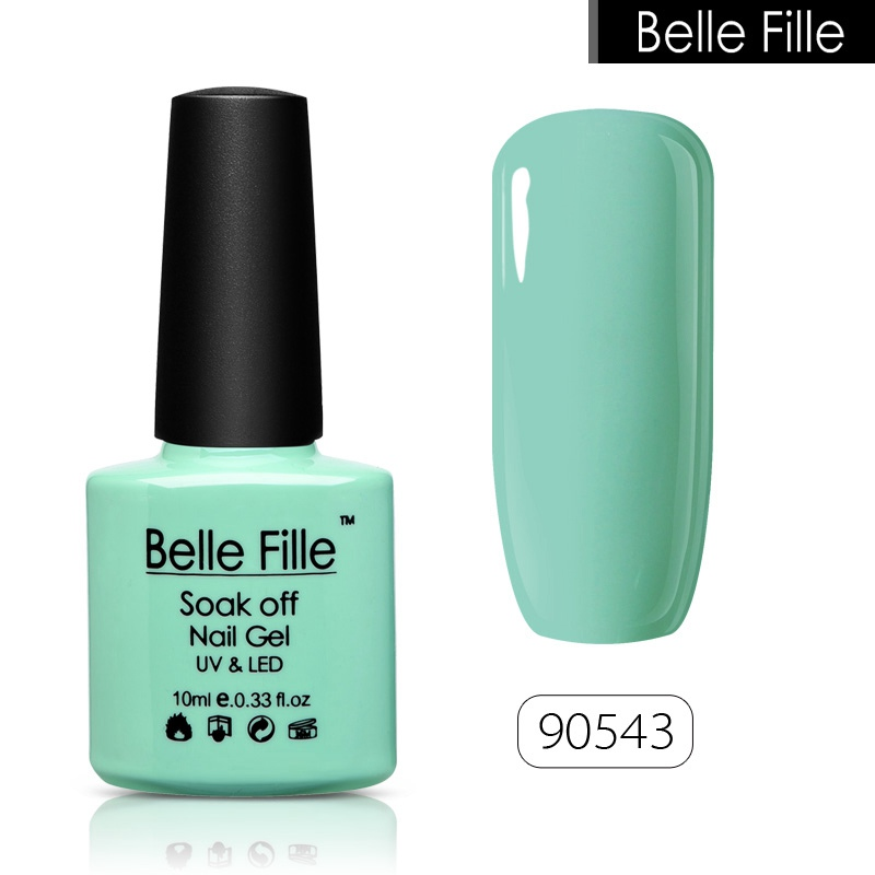 Belle fille dulce color de UV gel polaco cosméticos cosmética ...