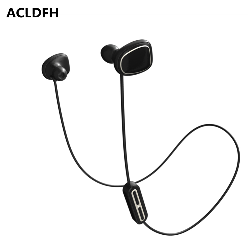 ACLDFH Wireless Bluetooth Earphone Noise Cancelling Headphones Sport Running Earbuds Headset with Mic 5 EQ Bass Stereo Up 8h huast v4 1 sport bluetooth earphone with mic wireless headphones bluetooth headset magnet earbuds for phone noise cancelling